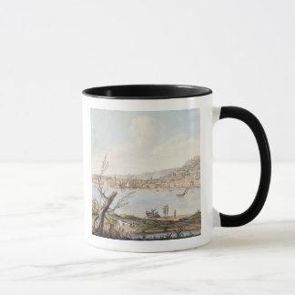 Mug Baie de Naples du bord de mer près du Br de