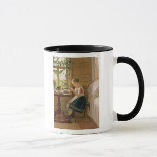 Mug Baies d'épluchage de fille, 1880