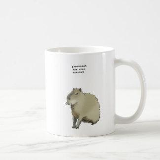 Mug baliverne de capybara