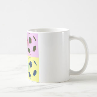 Mug Ballons de football d'art de bruit