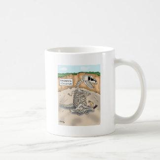 Mug Bande dessinée 9364 de dinosaure