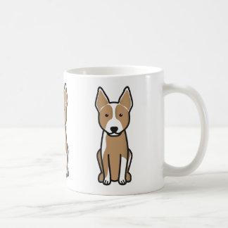 Mug Bande dessinée australienne de chien de bétail