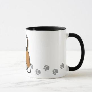 Mug Bande dessinée Basset Hound