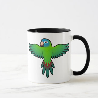 Mug Bande dessinée Conure/Lorikeet/perroquet
