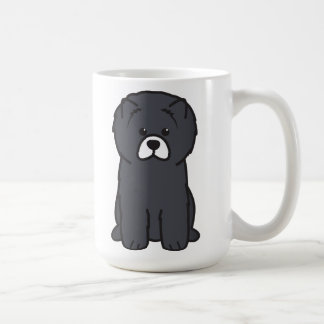 Mug Bande dessinée de chien de bouffe de bouffe
