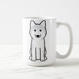 Mug Bande dessinée de chien de chien de traîneau