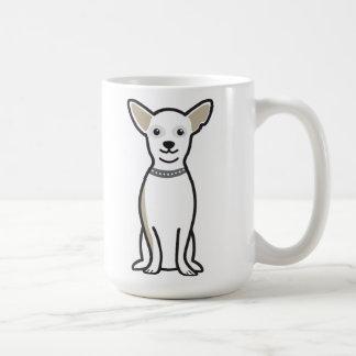 Mug Bande dessinée de chien de chiwawa
