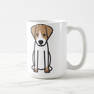 Mug Bande dessinée de chien de Jack Russell Terrier