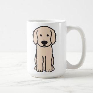 Mug Bande dessinée de chien de Labradoodle