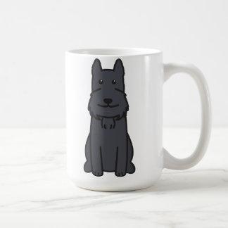 Mug Bande dessinée de chien de Schnauzer géant