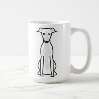Mug Bande dessinée de chien de whippet