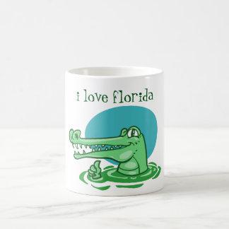 Mug bande dessinée drôle de la Floride d'amour du