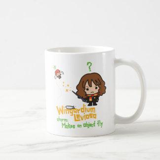 Mug Bande dessinée Hermione et charme de Ron