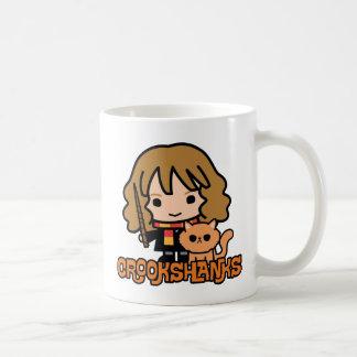 Mug Bande dessinée Hermione et Crookshanks