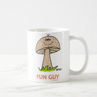 Mug Bande dessinée maladroite mignonne de champignon