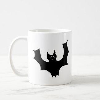 Mug Bande dessinée noire de chauve-souris