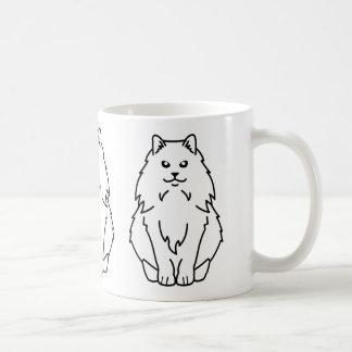 Mug Bande dessinée norvégienne de chat de forêt