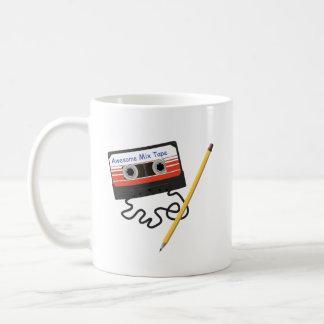 Mug Bande et crayon impressionnants de mélange