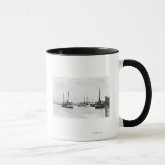 Mug Bandon, vue de l'Orégon du bord de mer de port