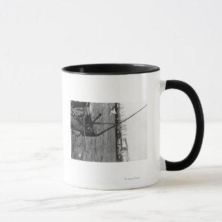 Mug Bandon, vue de port de l'Orégon et photographie de