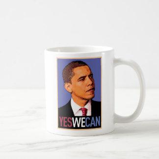"""Mug Barack Obama """"oui que nous pouvons"""" attaquer"""