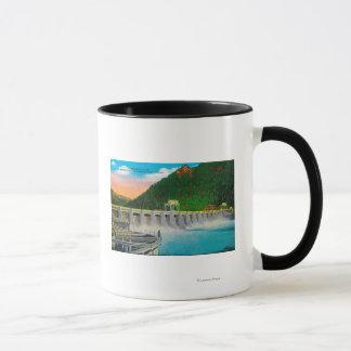 Mug Barrage de Bonneville sur le fleuve Columbia