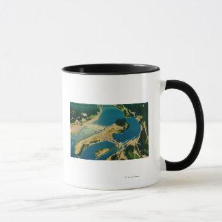 Mug Barrage et fleuve Columbia de Bonneville d'air