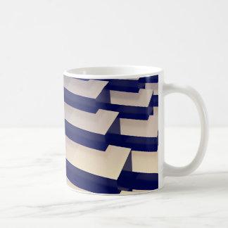 Mug barres d'or 3D