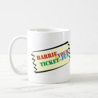 Mug Barrie est votre billet à l'amusement