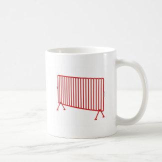 Mug Barrière mobile rouge