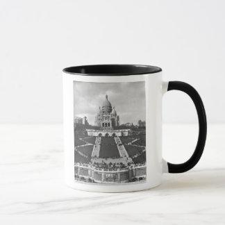 Mug Basilique de Sacre-Coeur, Montmartre, 1876-1910