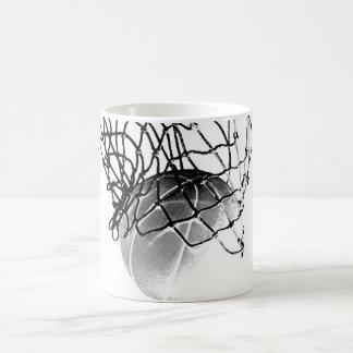 Mug Basket-ball noir et blanc