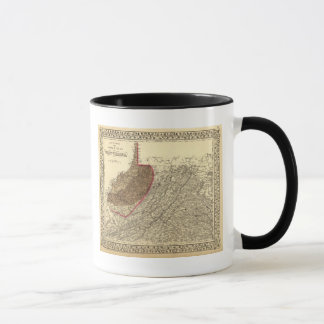 Mug Bassins houillers en Virginie Occidentale