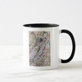 Mug Bataille de Chickamauga - carte panoramique de