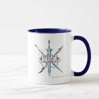 Mug BATAILLE de logo de CINQ ARMIES™