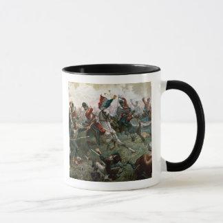 Mug Bataille de waterloo, le 18 juin 1815, 1898