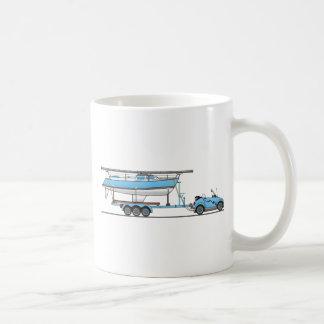 Mug Bateau à voile de voiture d'Eco