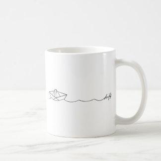 Mug Bateau de papier de dérive