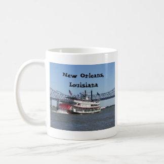 Mug Bateau de rivière à la Nouvelle-Orléans