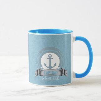 Mug Bateau personnalisé par CAPITAINE naviguant