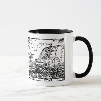 Mug Bateaux de Viking