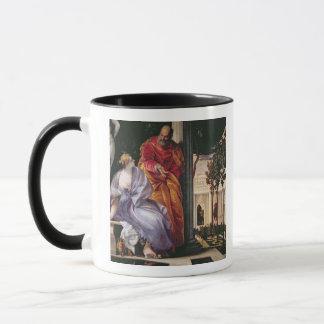 Mug Bathsheba se baignant, c.1575 (huile sur la toile)