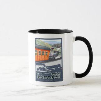 Mug Bâti Washington, nouveau chemin de fer de