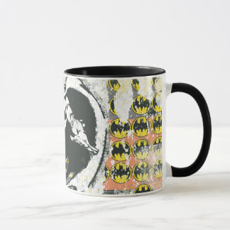 Mug Batman - montent le collage 1