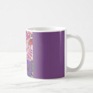 Mug Batte de pavot de dahlia