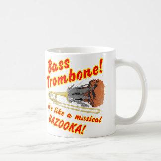 Mug Bazooka bas de musical de trombone