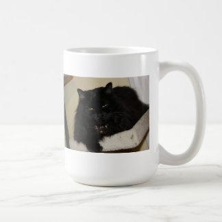 Mug Beau chat noir