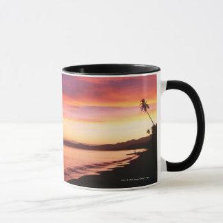 Mug Beau coucher du soleil à la plage