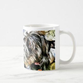 Mug Beau lurcher gris