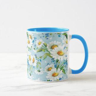 Mug Beau motif floral lumineux élégant 2